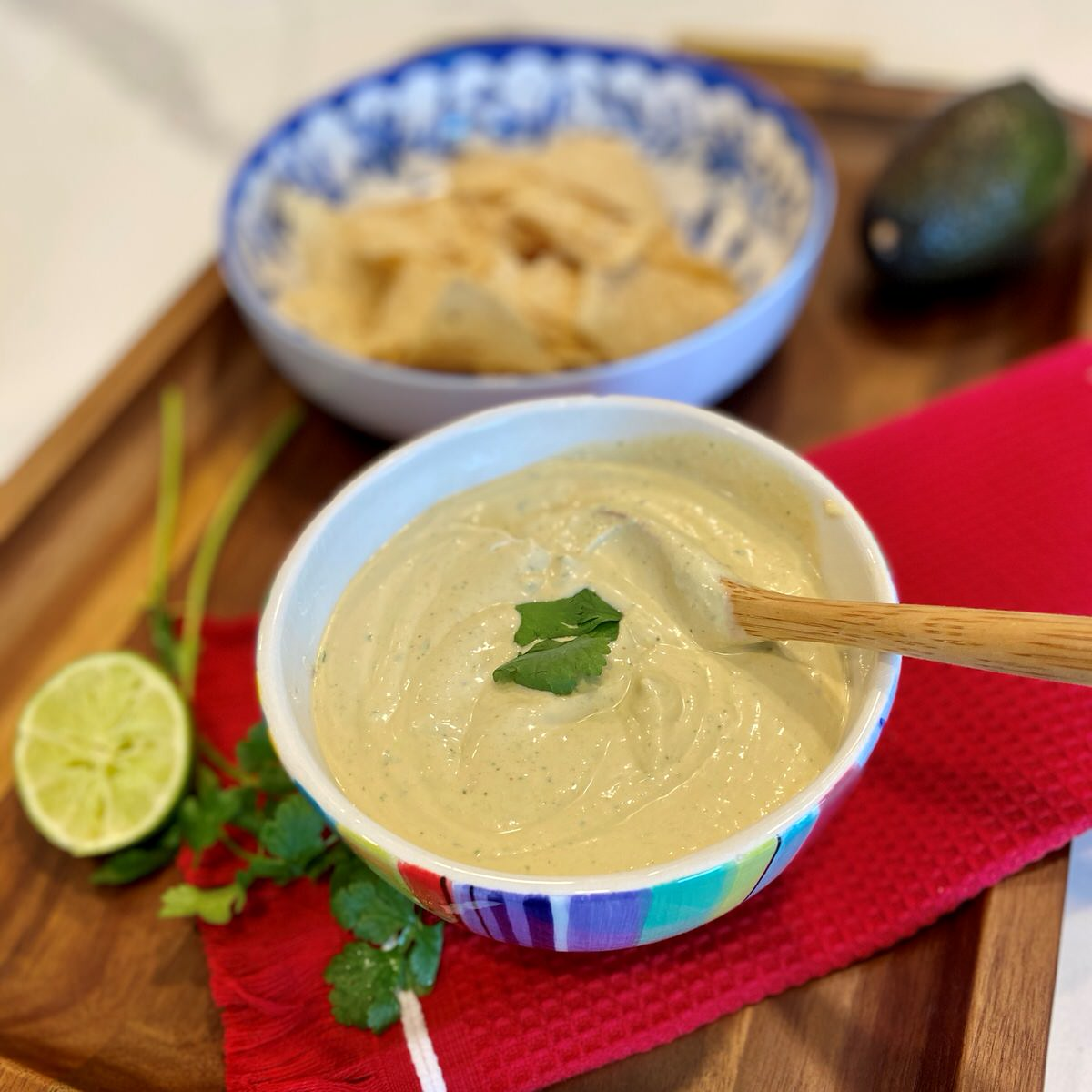 The Best Creamy Avocado Dipping Sauce Recipe | Easy Weeknight Dinner Recipes | A Dash of Casual Blog | Home Decor Boutique | Boerne Texas | San Antonio | Texas Hill Country