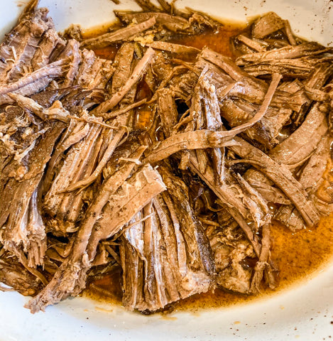 3 Ingredient Brisket Recipe | Easy Weeknight Dinner Recipes | A Dash of Casual Blog | Home Decor Boutique | Boerne Texas | San Antonio | Texas Hill Country