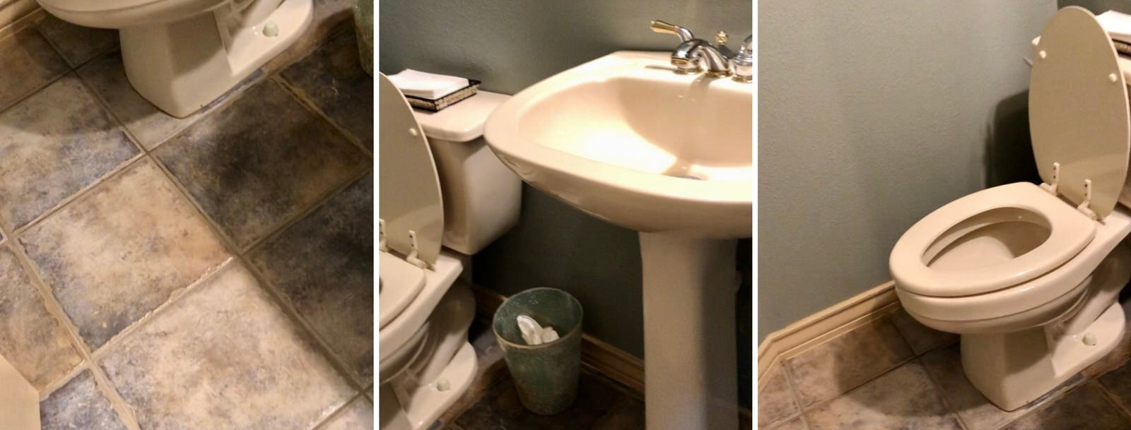 Powder Bath Remodel Using Amazon Finds | A Dash of Casual blog | home decor and gift boutique boerne san antonio texas