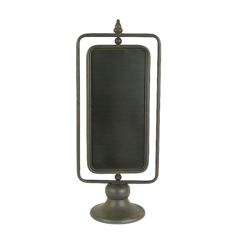 Metal 2 Sided Chalkboard on Stand