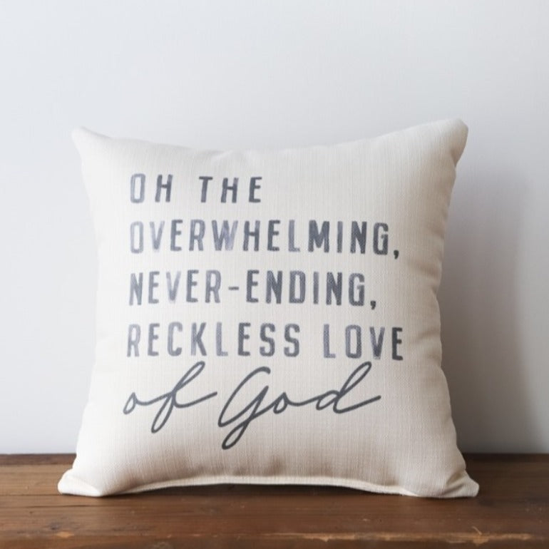 Reckless Love of God Pillow