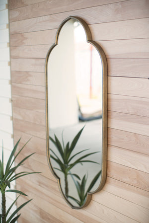 large metal framed mirror | wall mirror | wall art | home decor | modern farmhouse boho traditional decor | shop a dash of casual home decor and art online or in store | Located inside the Corner Cartel in Boerne | best boerne shops for home decor vintage items accessories and gifts