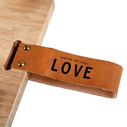 spread the local love charcuterie board | charcuterie plank | kitchenware | foodie gifts | shop a dash of casual furniture, home décor, kitchenware, gifts, and art online or in store | Located inside the Corner Cartel in Boerne | best boerne shops for home decor vintage items accessories and gifts