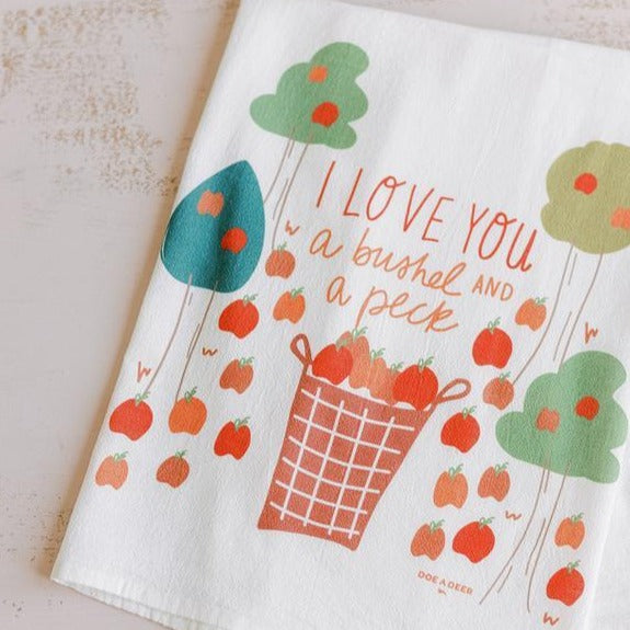 Flour Sack Tea Towel - Bushel And A Peck