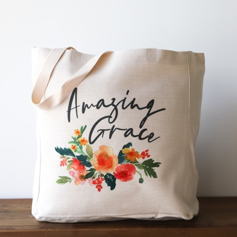 Amazing Grace Canvas Bag