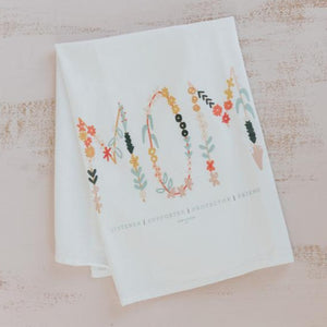 Mom Flour Sack Towel
