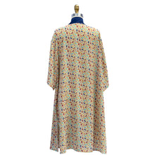 Load image into Gallery viewer, Buy beach cover up, buy beach dresses, best beach cover-ups, buy kimono cover up, buy robe fashion, buy bathing suit cover up, buy Resortwear, buy Beachwear, buy Caftan, buy comfortable robe, buy pretty robe, buy sustainable beach wear, buy sustainable resort wear, Fashion, Stylish, buy printed caftan, printed caftan