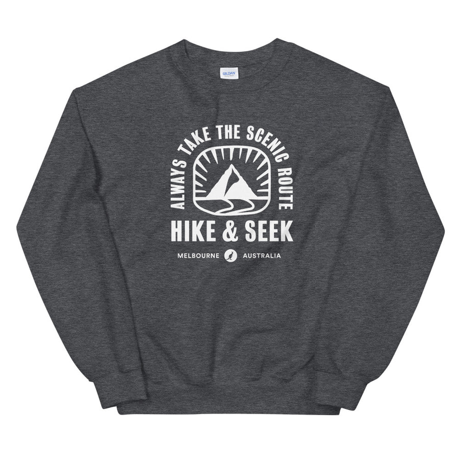 Always Take The Scenic Route - Unisex Sweatshirt