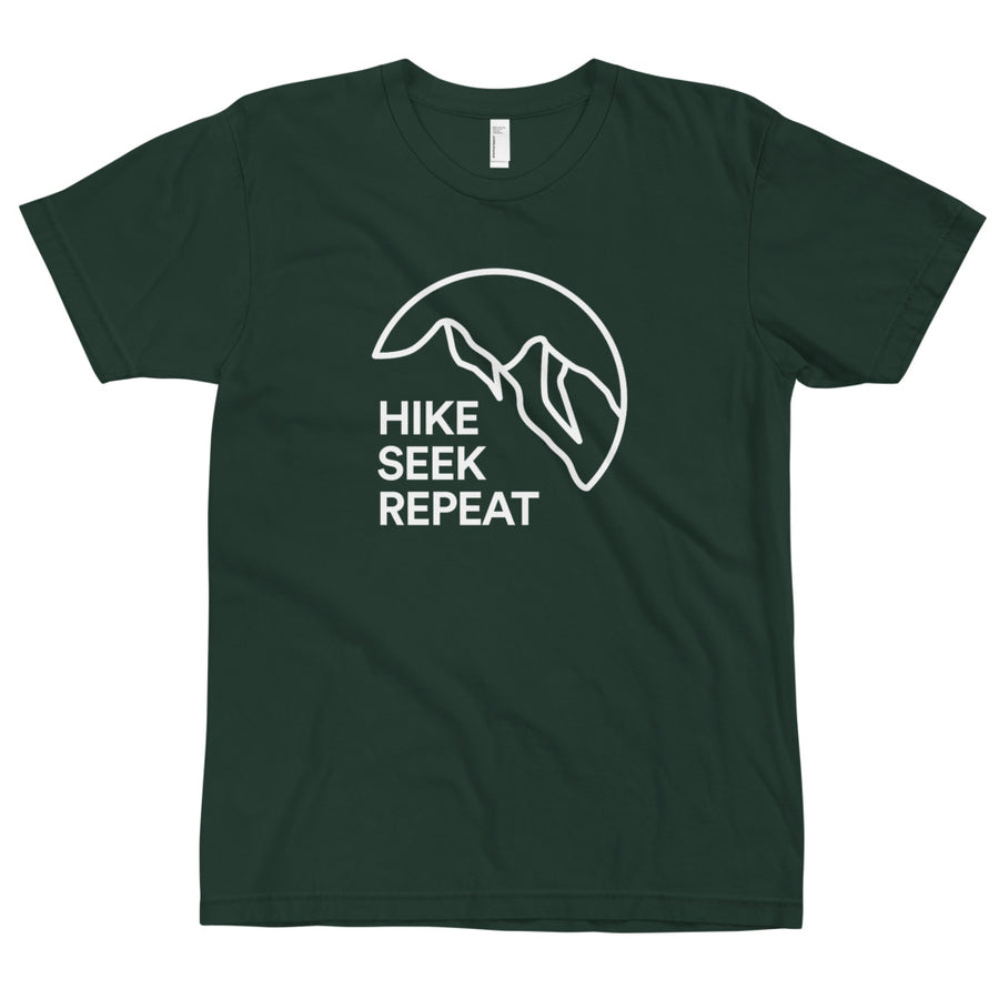 Hike Seek Repeat 2 - Eco Unisex T-Shirt