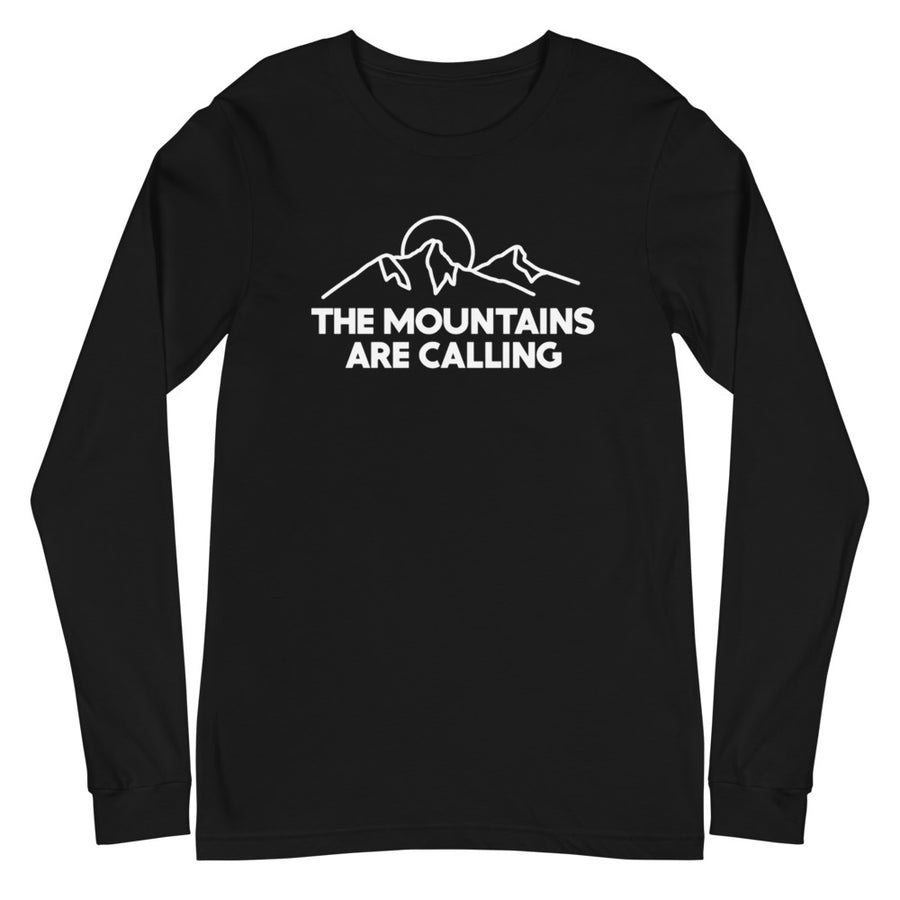 The Mountains Are Calling - Unisex Long Sleeve Tee