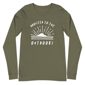 Addicted To The Outdoors - Unisex Long Sleeve Tee