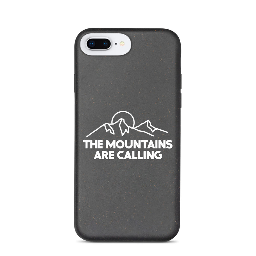 The Mountains Are Calling - iPhone Biodegradable Case