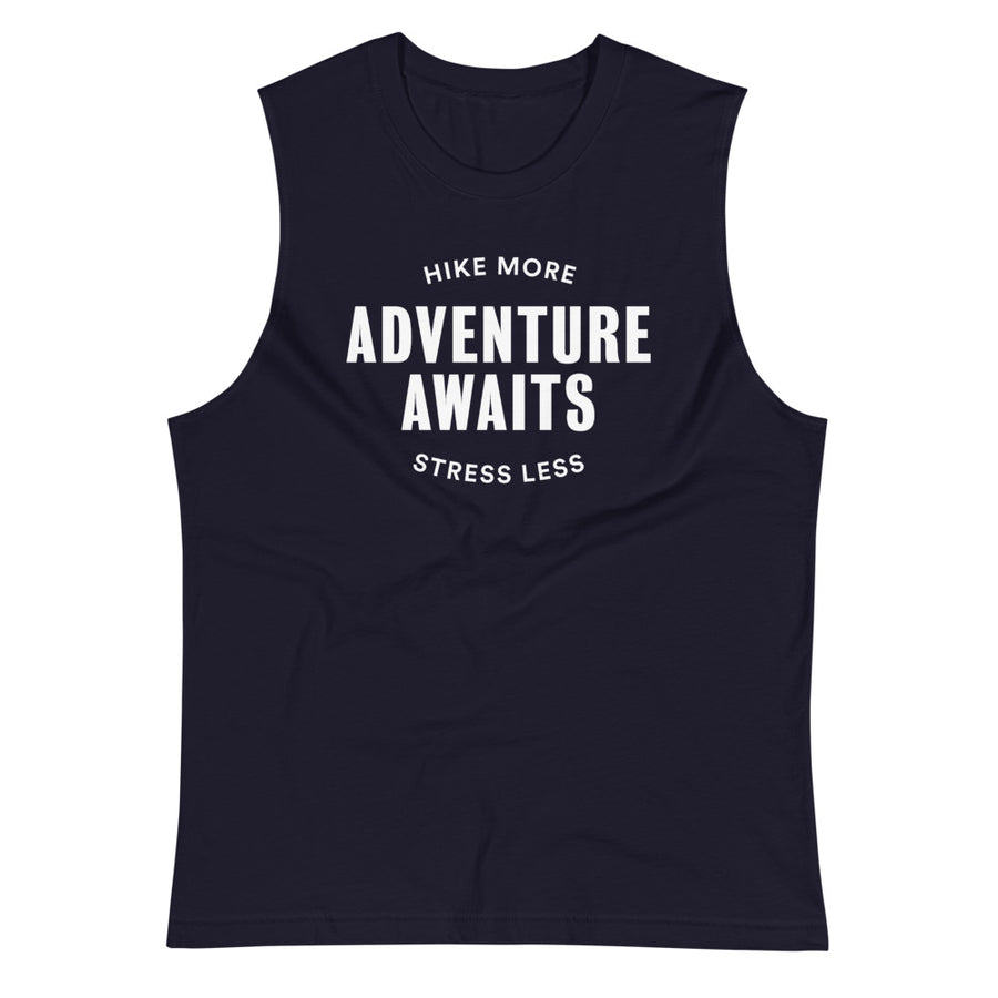 Adventure Awaits - Eco Unisex Tank