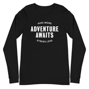 Adventure Awaits - Unisex Long Sleeve Tee