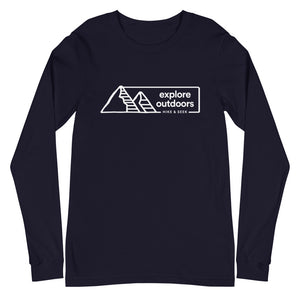 Explore Outdoors 2 - Unisex Long Sleeve Tee