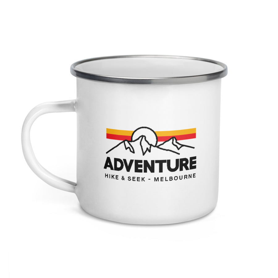 Adventure - Enamel Camp Mug