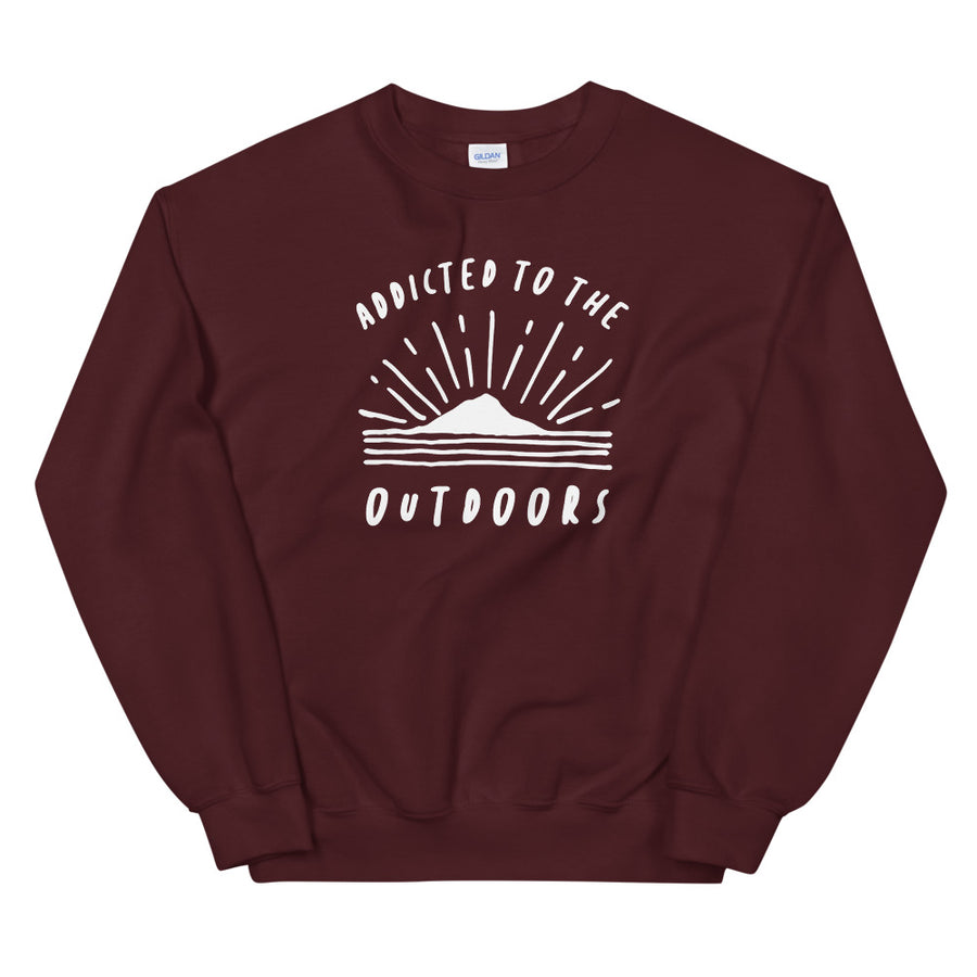 Addicted To The Outdoors - Unisex Sweatshirt