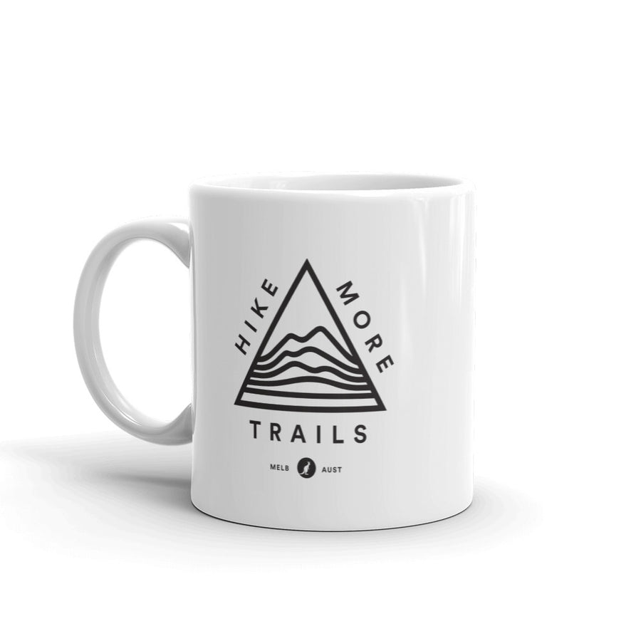 Hike & Seek hike more trails coffee mug