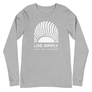 Live Simply 2 - Unisex Long Sleeve Tee