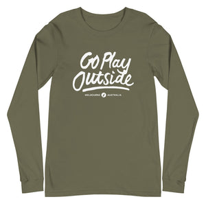 Go Play Outside - Unisex Long Sleeve Tee