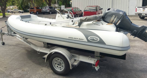 Pre-Owned - 2016 Walker Bay Generation 450 fully loaded