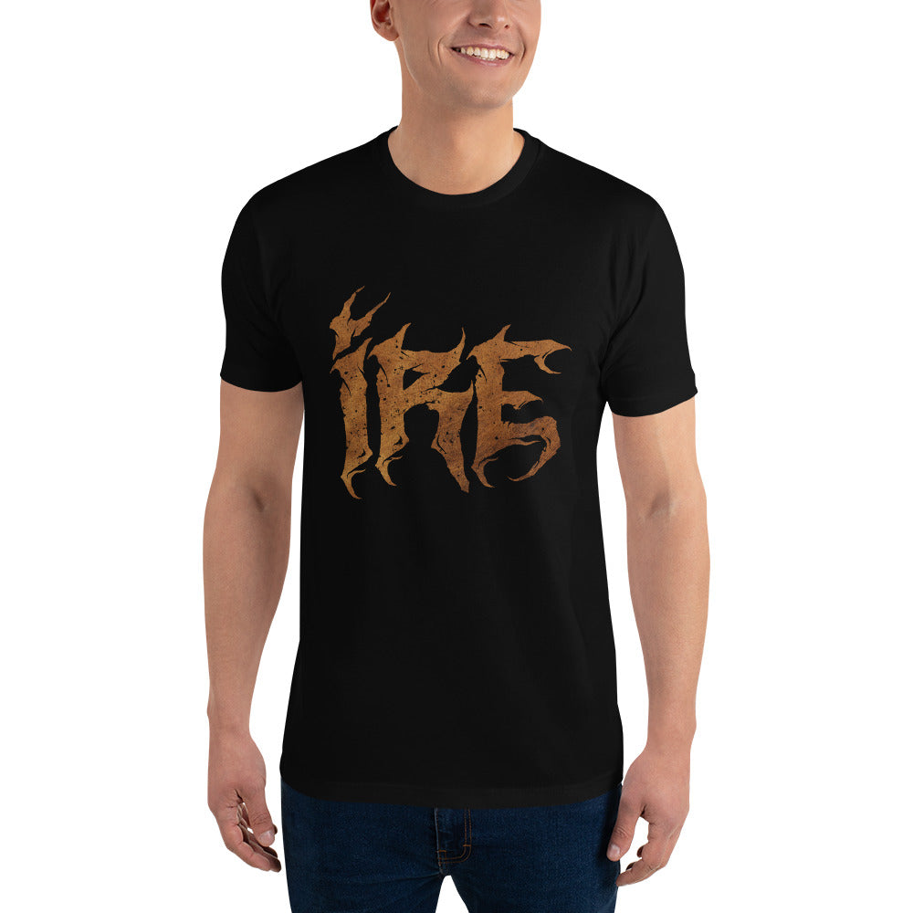 IRE Burnt Logo Shirt - Black