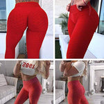 Load image into Gallery viewer, Shop Women's Clothing  Women High Waist Push Up Leggings - Apparel & Accessories > Clothing > Activewear - JOMOBabe