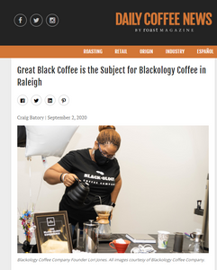 We had an interview with Daily Coffee News!