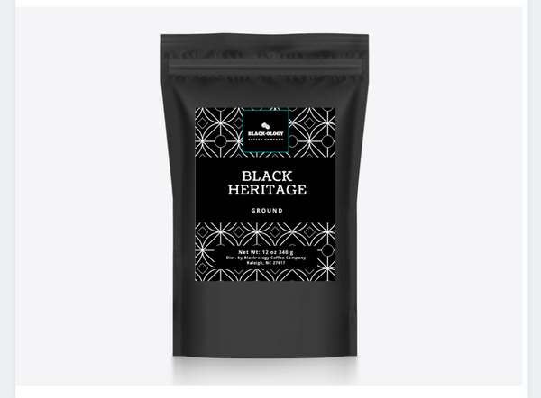 "BLACK•OLOGY ""Black Heritage"" Coffee"