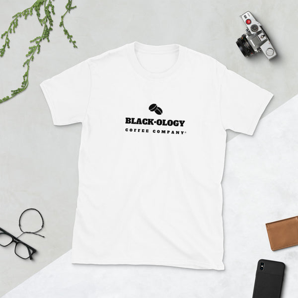 Black·ology Short-Sleeve Unisex T-Shirt (White)