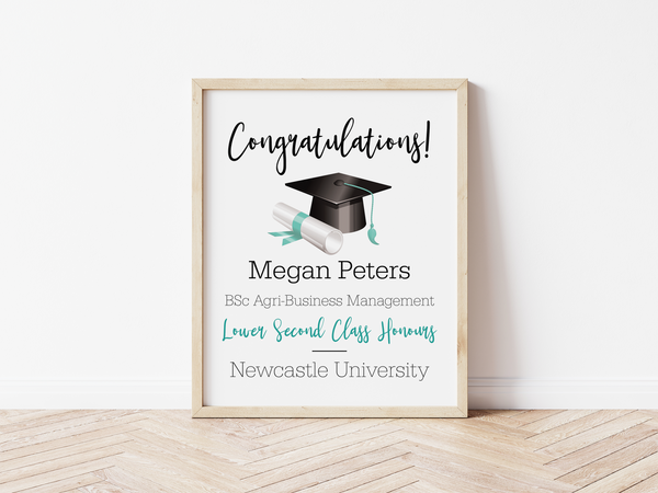 Congratulations Graduation Print