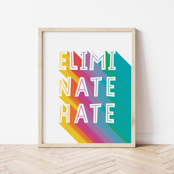 Colourful Custom Quote Print