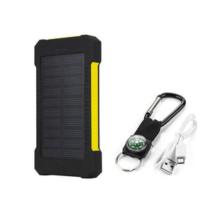 SOLCELLEDREVET POWER BANK 30 000mAh