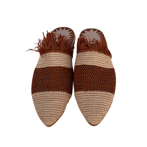 the roots raffia shoes