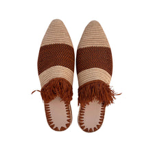 Upload image to gallery viewer, the roots raffia shoes 2