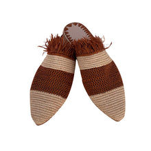 Upload image to gallery viewer, the roots raffia shoes 3