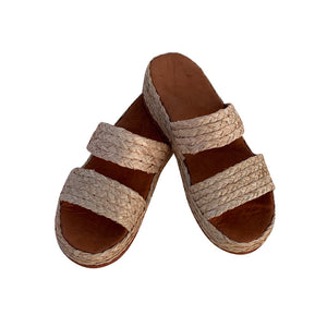 comfy heaven raffia shoes 1