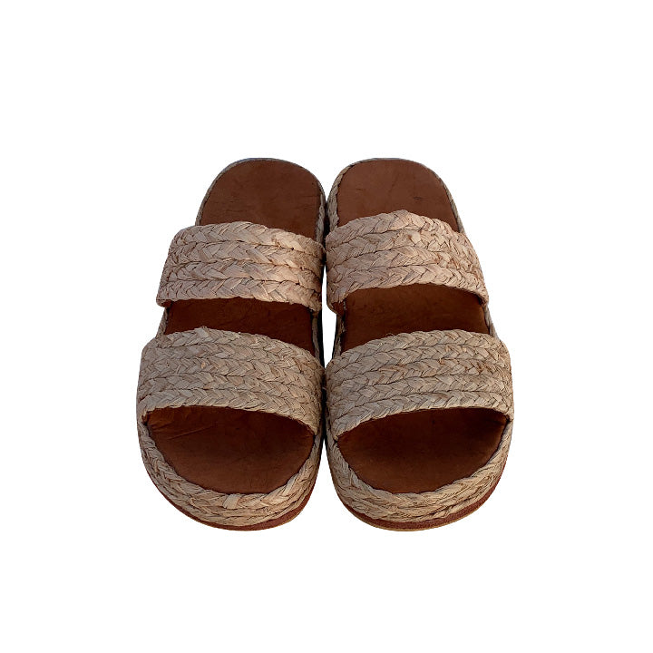 comfy heaven raffia shoes