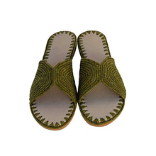 Load the image in the gallery viewer, maktoub raffia shoes