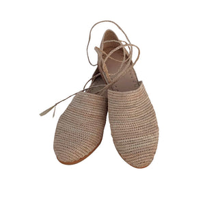 the classics raffia shoes 1