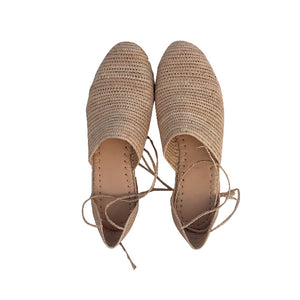 the classics raffia shoes 2