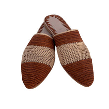 Load the image into the gallery viewer, two faces raffia shoes 3