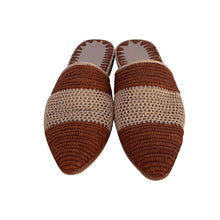 Load the image into the gallery viewer, two faces raffia shoes