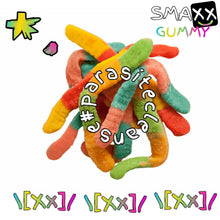 Load image into Gallery viewer, \[Xx]/ GUMMY SMAXX - HYPEhard TROPIC Candy  - 1 Bag x 12 pcs @GUMMYsmaXx #EATtheHype