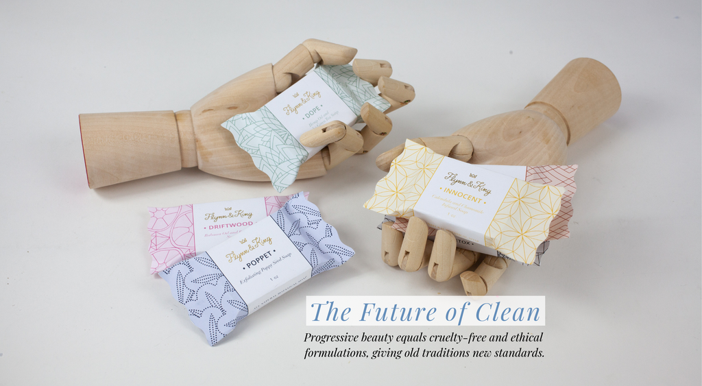 Cruelty free and all natural soaps made with ethical formulations
