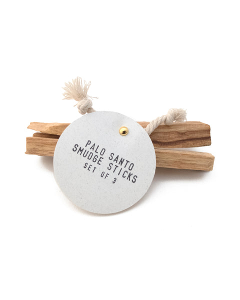 PALO SANTO SMUDGE STICKS - Set of 3