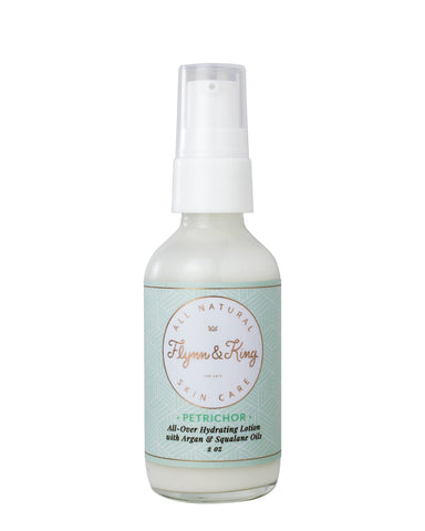 TRAVEL SIZE PETRICHOR - All-Over Hydrating Lotion with Argan & Squalane Oils - New Item