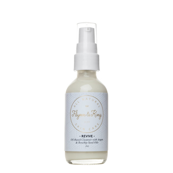 REVIVE - Oil-Based Cleanser with Argan and Rosehip Seed Oil
