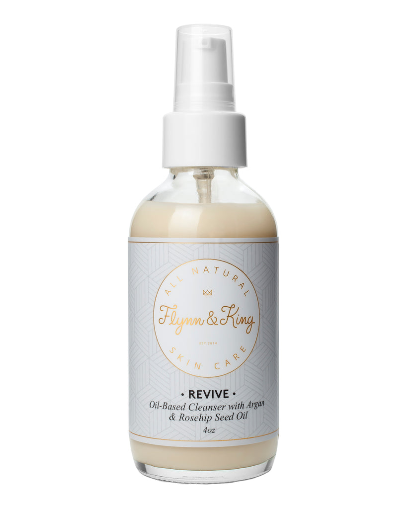 TRAVEL SIZE REVIVE - Oil-Based Cleanser with Argan and Rosehip Seed Oil