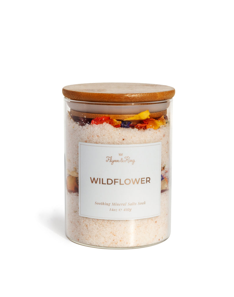 WILDFLOWER - Soothing Mineral Salts Soak 14oz